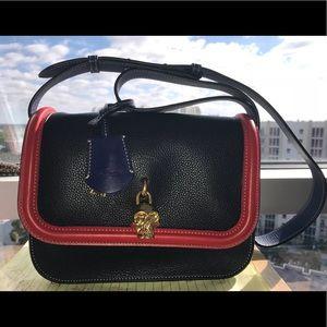 Alexander McQueen Padlock Leather CrossBody Bag